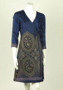 36-nachtblauw culture fabric