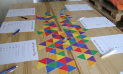 Workshops over taal van kleding
