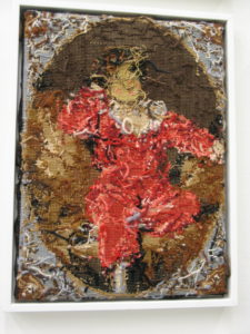 losse draadjes. borduursels, Fundatie. 24-5-16 (foto Janny ter Meer)